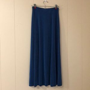 Chico's travelers teal skirt